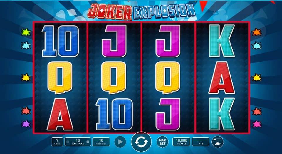 Joker Explosion Slot Machine