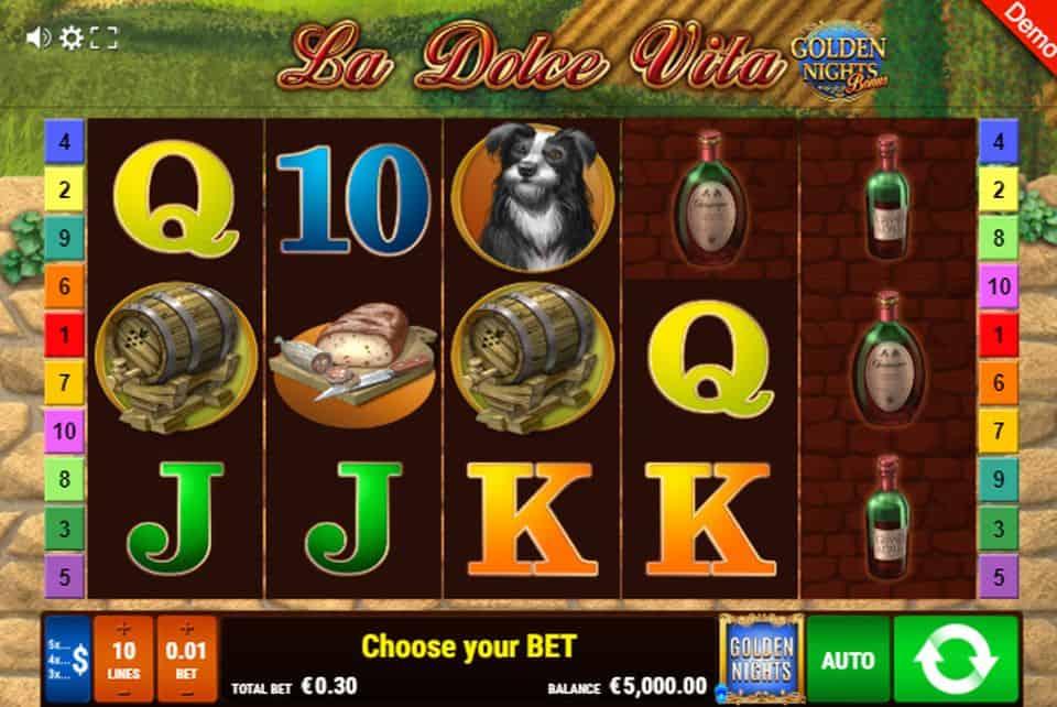 La Dolce Vita Slot Machine