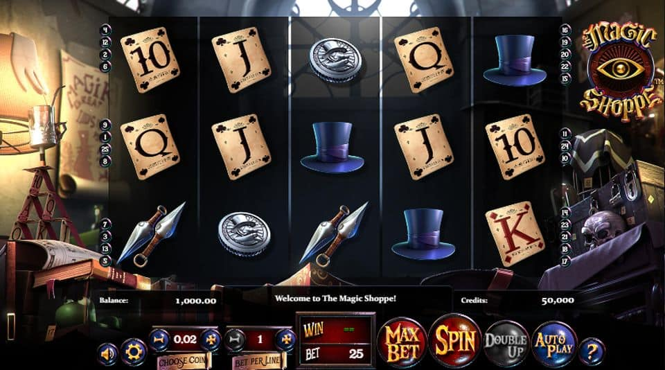 Magic Shoppe No Download Slot