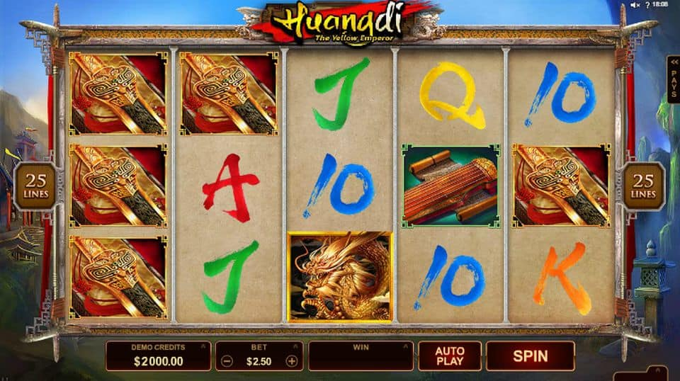 Huangdi: The Yellow Emperor No Download Slot Demo