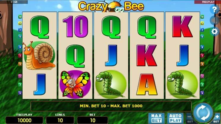 Bee Crazy Slot Machine