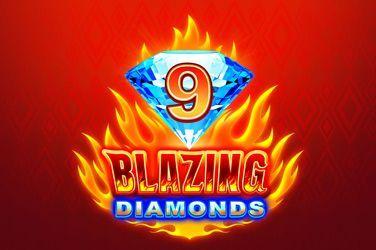 9 Blazing Diamonds Slot Game Free Play at Casino Mauritius