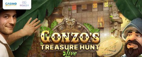 Gonzo's Treasure Hunt Live at Casino Mauritius