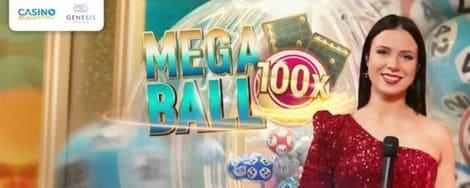 Mega Ball Live at Casino Mauritius
